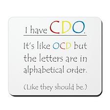 I have CDO ... Mousepad