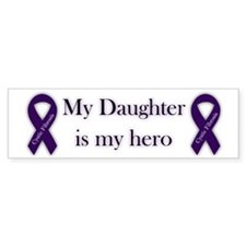 Daughter CF Hero Car Sticker