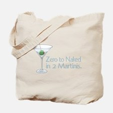 Zero to Naked ... Tote Bag