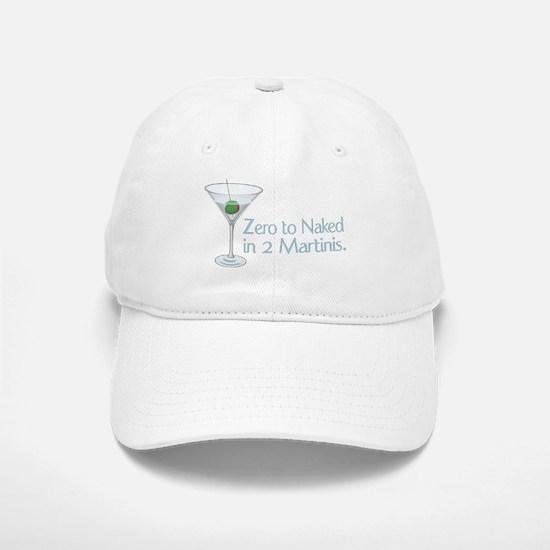 Zero to Naked ... Baseball Baseball Cap