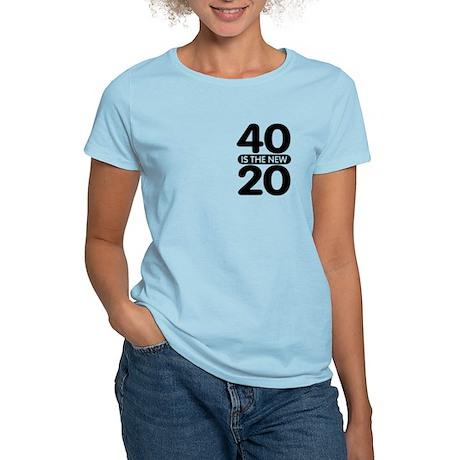 40 is the new 20 Women's Light T-Shirt