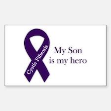 Son CF Hero Sticker (Rectangle)