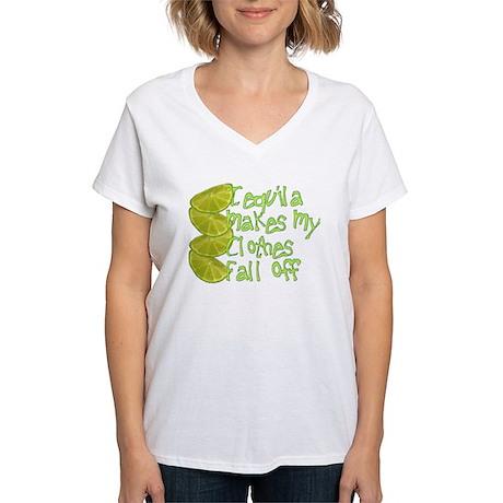 Tequila ... Women's V-Neck T-Shirt