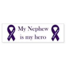 Nephew CF Hero Bumper Sticker