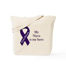 Niece CF Hero Tote Bag