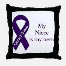 Niece CF Hero Throw Pillow