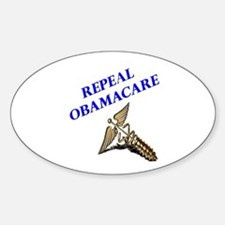Repeal Obamacare 3 Sticker (Oval)