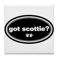 Got Scottie? Tile Coaster
