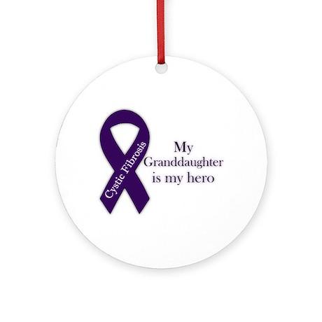 Granddaughter CF Hero Ornament (Round)