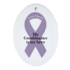 Granddaughter CF Hero Ornament (Oval)