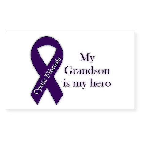 Grandson CF Hero Sticker (Rectangle)
