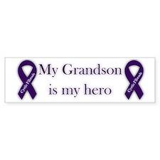 Grandson CF Hero Bumper Sticker