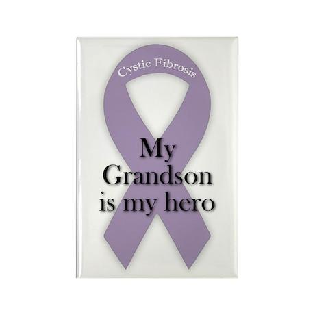 Grandson CF Hero Rectangle Magnet