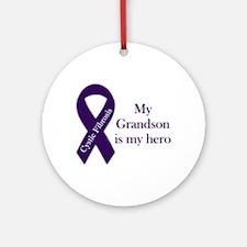 Grandson CF Hero Ornament (Round)
