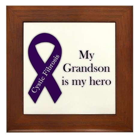 Grandson CF Hero Framed Tile