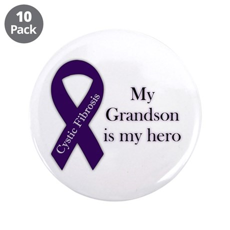 "Grandson CF Hero 3.5"" Button (10 pack)"