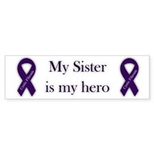 Sister CF Hero Bumper Sticker