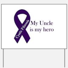Uncle CF Hero Yard Sign