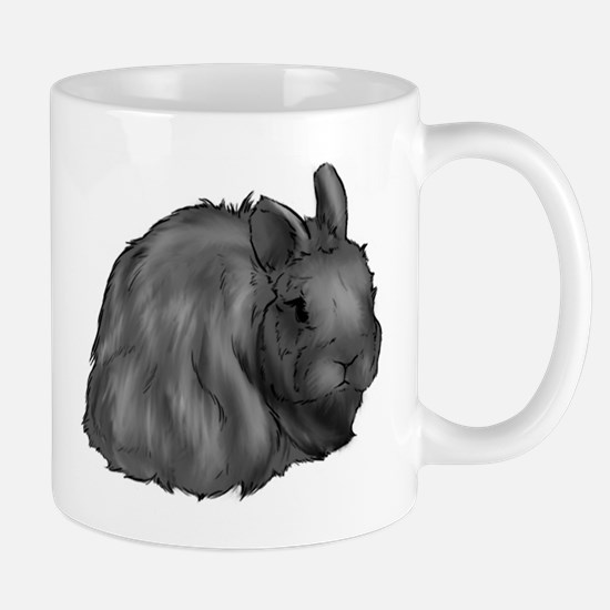 Blue Jersey Wooly Mug