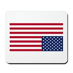Distress flag, USA Mousepad