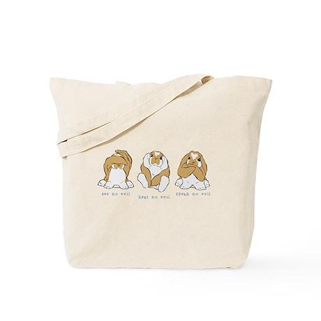 See No Hear No Speak No Evil Tote Bag