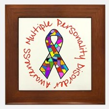 Cute Mental health awareness Framed Tile
