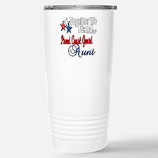 Coast Guard Aunt Travel Mug