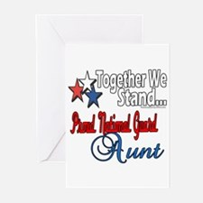 National Guard Aunt Greeting Cards (Pk of 20)