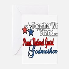 National Guard Godmother Greeting Cards (Pk of 20)
