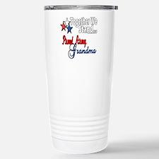 Army Grandma Travel Mug