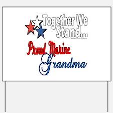 Marine Grandmother Yard Sign