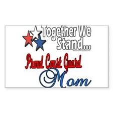 Coast Guard Mom Decal