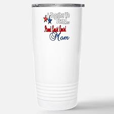 Coast Guard Mom Travel Mug