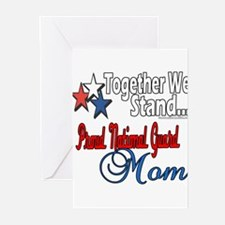 National Guard Mom Greeting Cards (Pk of 20)