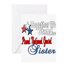 National Guard Sister Greeting Cards (Pk of 20)