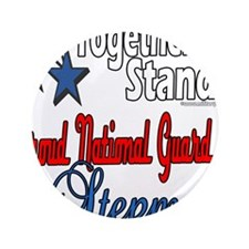 """Proud National Guard Stepmom 3.5"""" Button (100"""
