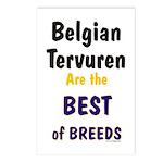 Belgian Tervuren Best of Breeds Postcards (Package