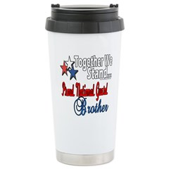 National Guard Brother Stainless Steel Travel Mug