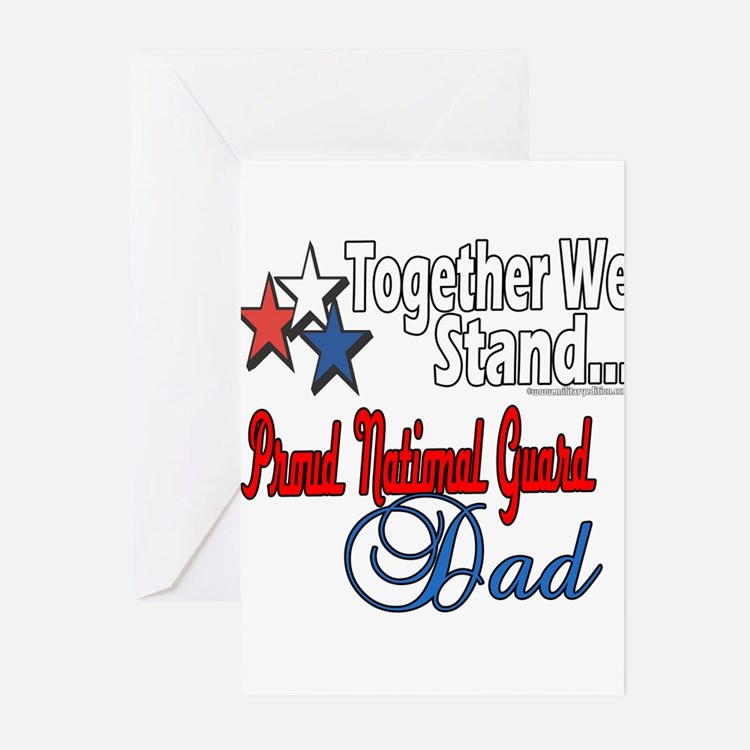 National Guard Father Greeting Cards (Pk of 20)