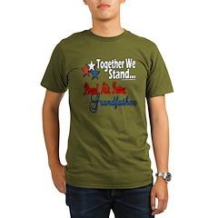 Air Force Grandpa Organic Men's T-Shirt (dark)