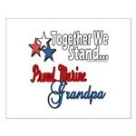 Marine Grandpa Small Poster