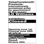 Closed Poster: Telephonebooth Gallery Large Poster