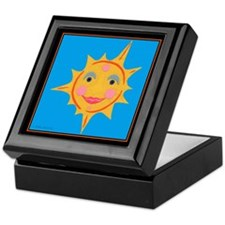 Smiling Sun Keepsake Box