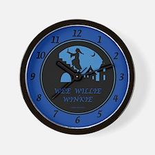Wee Willie Winkie Wall Clock