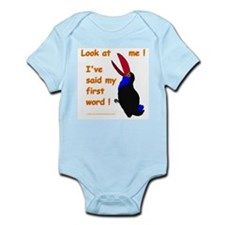 Baby's First Word Infant Bodysuit