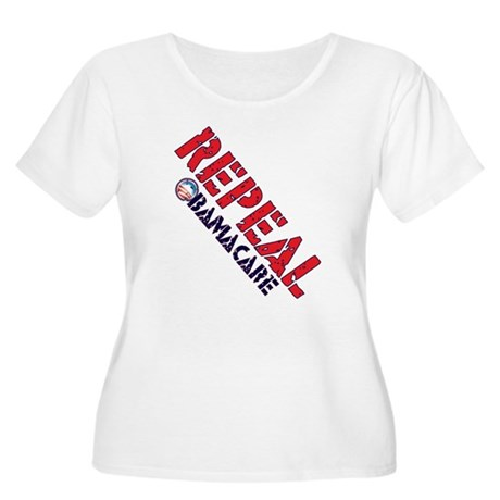 Repeal ObamaCare Women's Plus Size Scoop Neck T-Sh