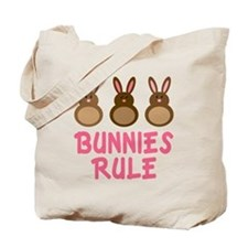Easter Bunnies Rule Tote Bag