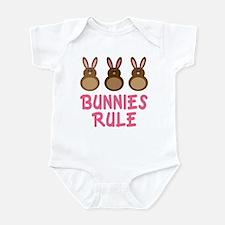 Easter Bunnies Rule Infant Bodysuit