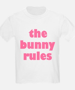 Funny Bunny Rules T-Shirt