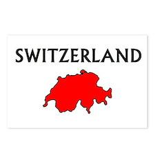 Cool Geneva switzerland Postcards (Package of 8)